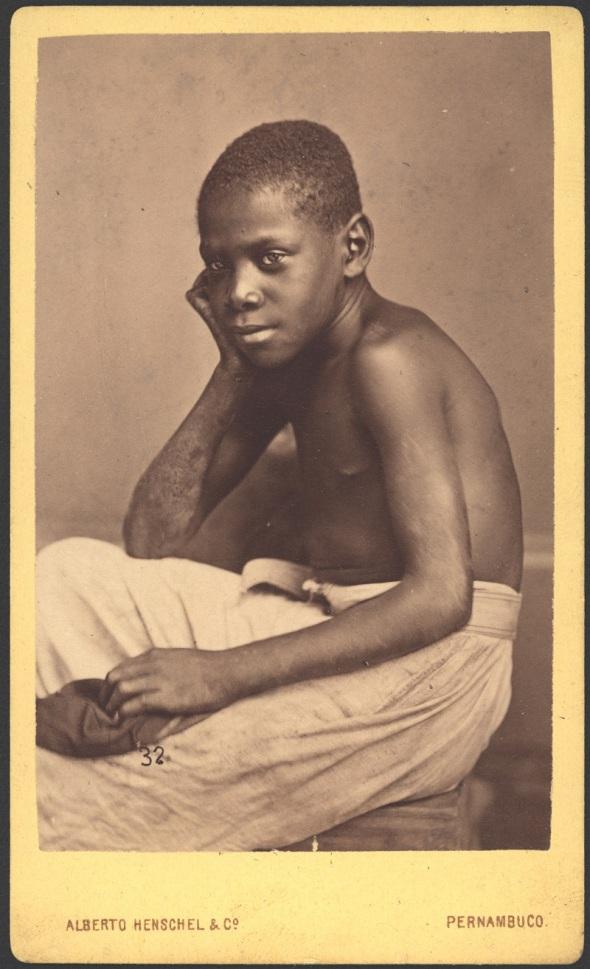 Alberto Henschel_Retrato negro_1869