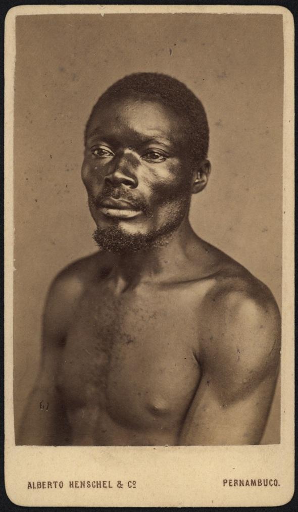 Alberto Henschel_Retratos_Tipos negros_Recife_1869