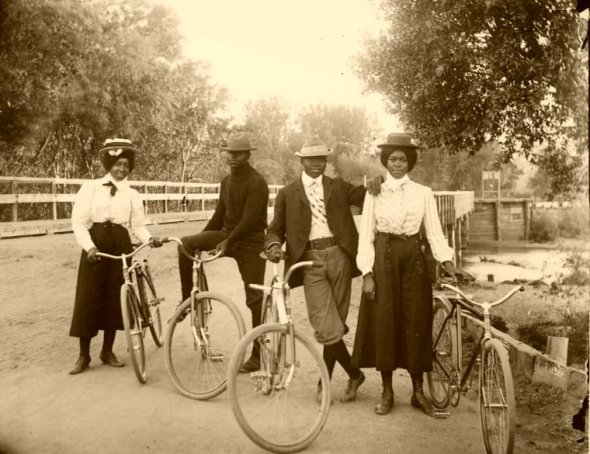 American Negro Cyclists of the first decade of the 20th century