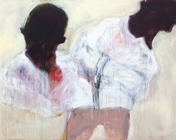Beatrice Wanjiku (born 1978, Kenya)_The Sentiment of the Flesh 4_acrylic on canvas_2015