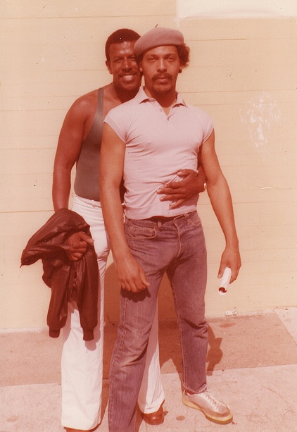 Black gay couple_early 1980s