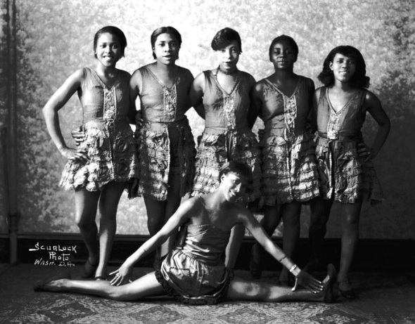 Black vaudeville dancers_1930_Washington D.C.