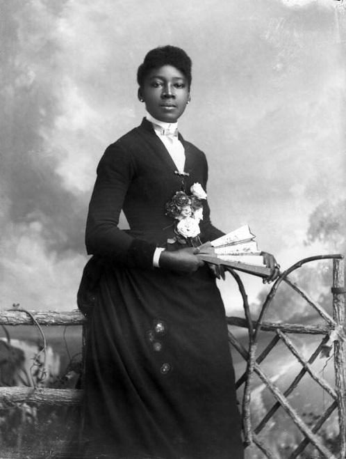 Black woman of the Victorian era