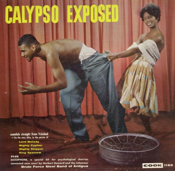 Calypso music album cover from the 1960s
