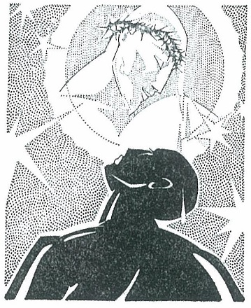 Charles Cullen illustration for The Black Christ_1929