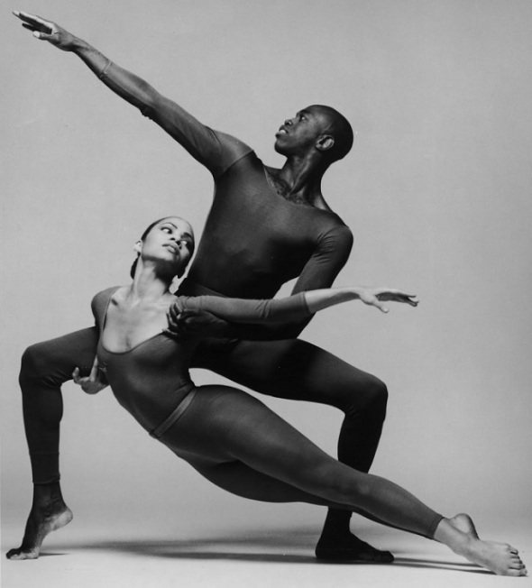 Danielle Gee and Leonard Meek of the Alvin Ailey Dance Company_1995