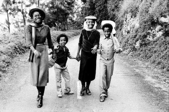 Quatre enfants de Bob Marley_1980