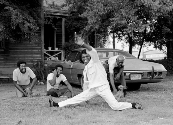 James Brown busts a move_early 1970s