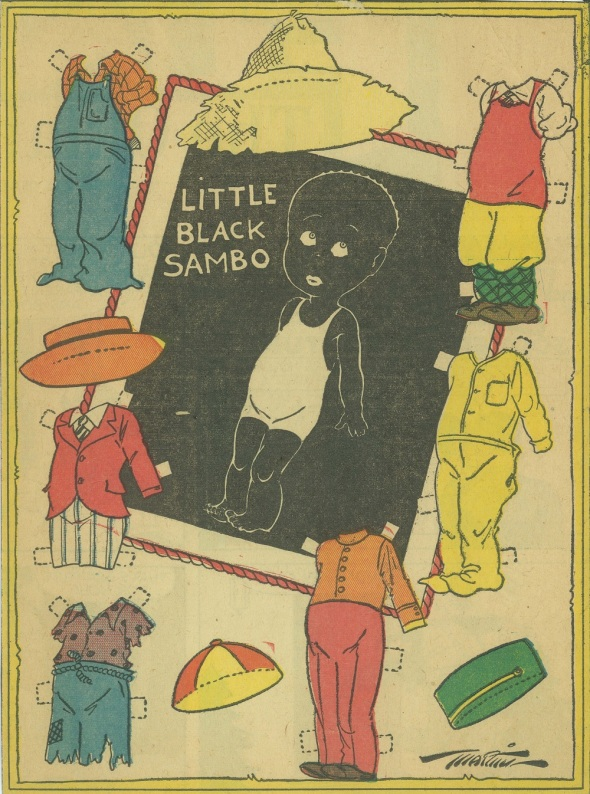 Little Black Sambo by Martin_from an Oklahoma City newspaper_June 1937