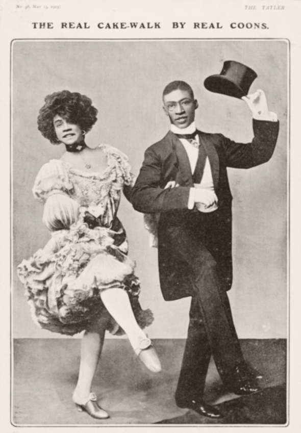 Notice in The Tatler_May 1903_for the play In Dahomey_featuring husband and wife vaudevillians Aida and George Walker