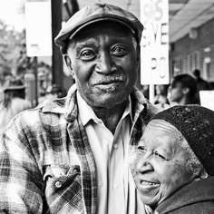 Older Black couple...and Still in LOVE...