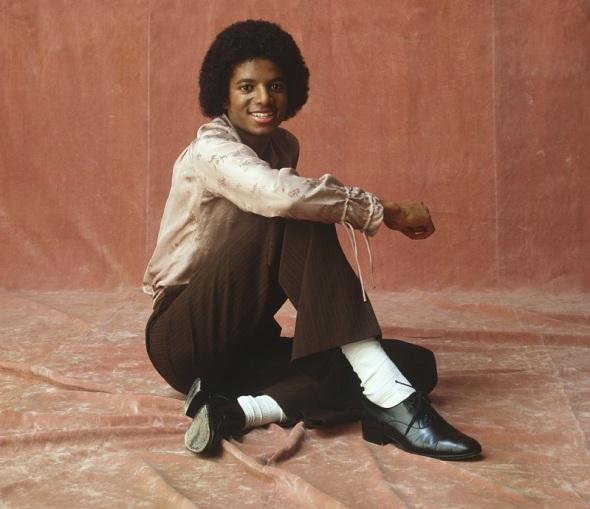 Photgraphie par Jim McCrary de Michael Jackson