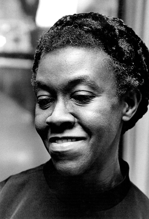 Poet Gwendolyn Brooks
