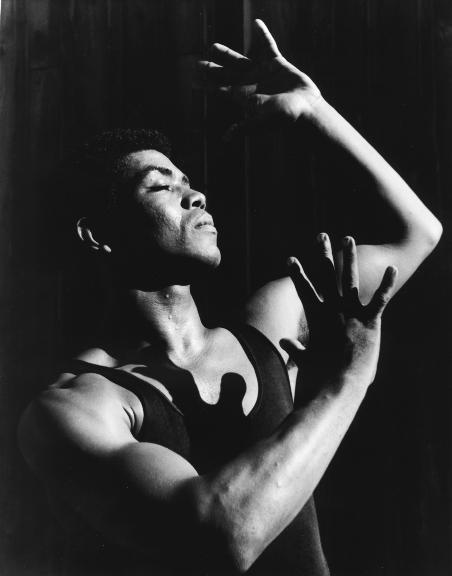 The young Alvin Ailey