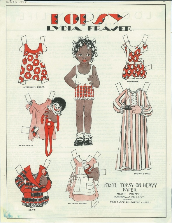 Topsy by Lydia Fraser_Canadian Home Journal, October 1932