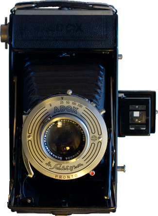 Vintage Adox Sport model camera manufactured in the 1940s