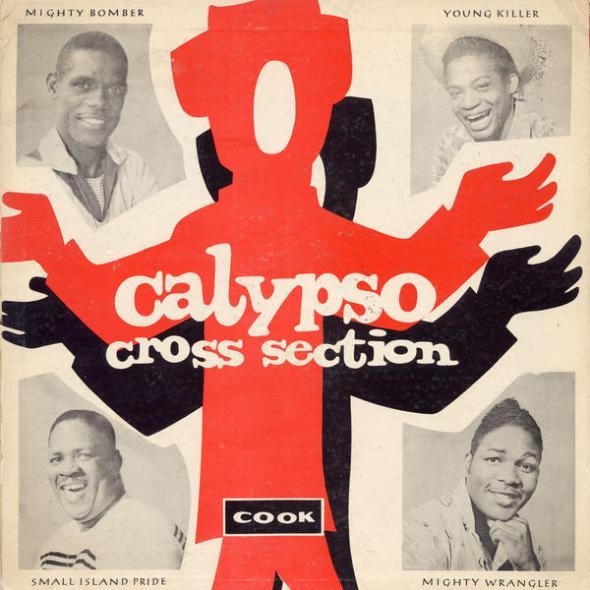 Vintage calypso album cover_1960s