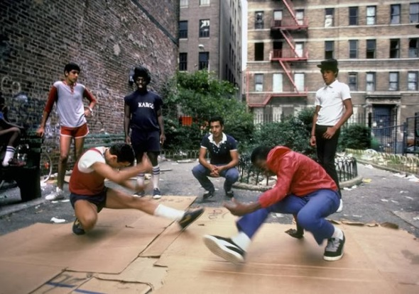Young Bboyz in New York City_early 1980s_photograph by Martha Cooper