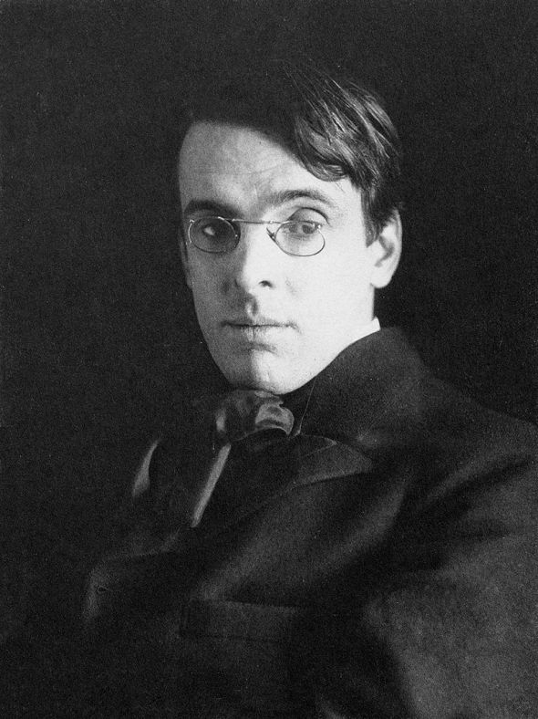William Butler Yeats, age 38_December 1903_portrait by Alice Broughton