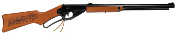 BB gun in design style from the 1940s