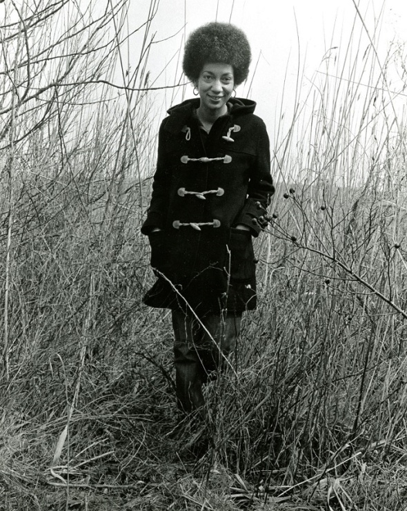 Poet June Jordan_around 1968_photograph possibly taken by Louise Bernikow