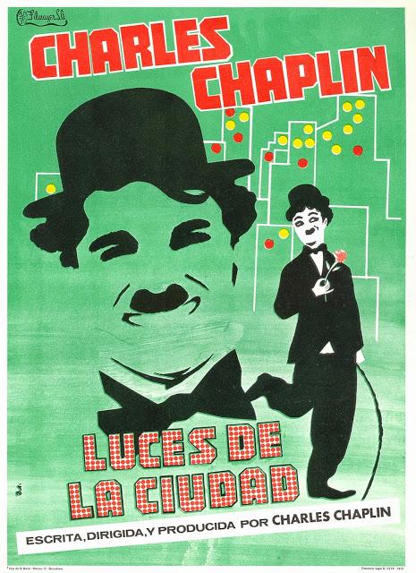 Cartel de la pelicula Luces de la Ciudad_1931