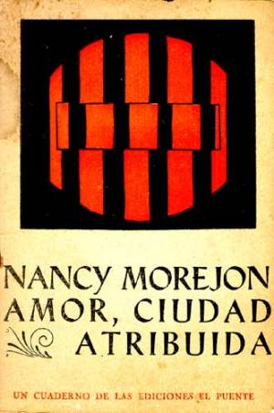 "Cover of a ""notebook"" (cuaderno) of poems by Nancy Morejón_published in 1964"