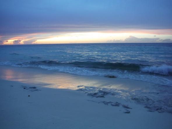 Crepúsculo en la Playa Esmeralda_Cuba_mayo de 2016