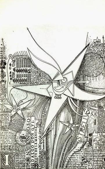 Fayad Jamis: Poema gráfico_1971