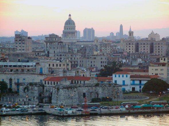 Vista de La Habana desde El Cristo_foto © Altervista punto org