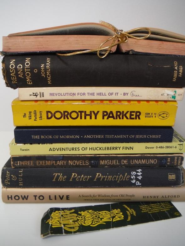 Unos libros míos...Hacia el estudio de la Ética_Some books of mine...Toward a study of Ethics_julio de 2016