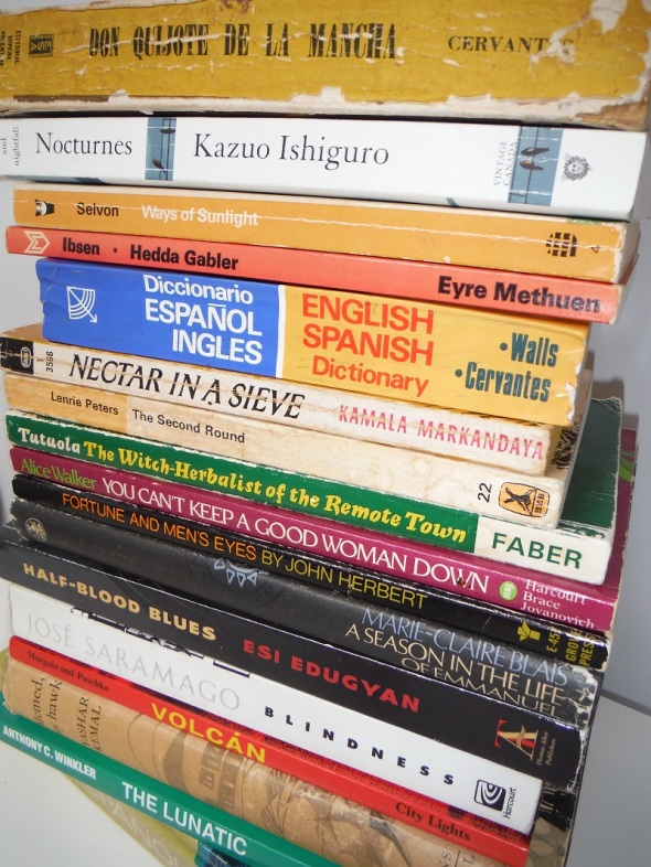 Unos libros míos...julio de 2016_Some books of mine...July 2016