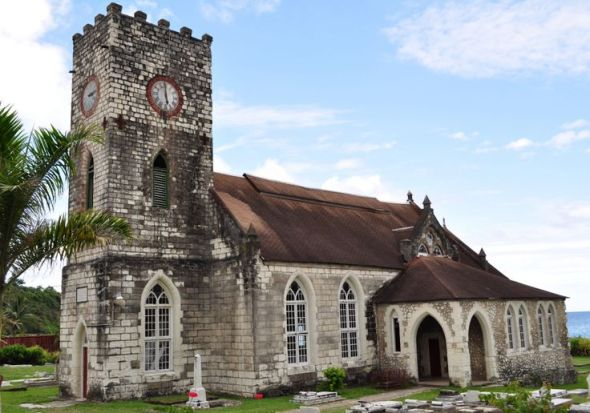 St. Mary's Church_Port Maria, Jamaica: photograph copyright Mark Phinn